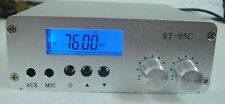 ST-05C  FM transmitter stereo pll radio broadcast 76-108MHZ 0.1W/0.5W  only host