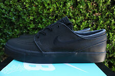 NIKE SB ZOOM STEFAN JANOSKI L SZ 10 BLACK ANTHRACITE LEATHER 616490 006