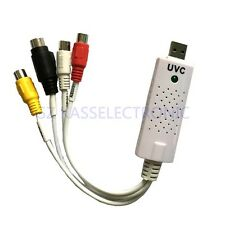 Generic UVC Video Capture Card for Linux MAC Windows 7 8 10 analog to digital