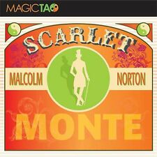 SCARLET MONTE BICYCLE GIMMICK & ONLINE INSTRUCTION BY M NORTON MAGIC CARD TRICKS