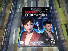 Resident Evil CODE: Veronica X Nintendo GameCube, 2003 WII New Factory Sealed!