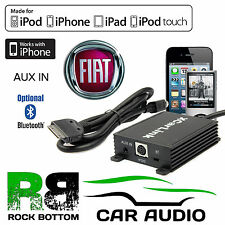 SKU2139 Fiat 500 2008 On Car Radio AUX IN iPod iPhone Bluetooth Interface Cable