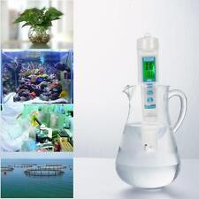 Portable 3 in 1 Pen Type LCD Digital pH / EC / TEMP Meter for Aquarium Pool R94X