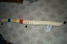PRIMITIVE ARCHER,  HAND SEWN, WOOL, LONG  BOW CASE 57""