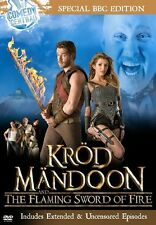 Krod Mandoon and the Flaming Sword of Fire DVD Region 1