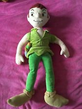 "��Disney Store Genuine Plush ""Peter Pan  "" Soft Doll 22"" Long!��"
