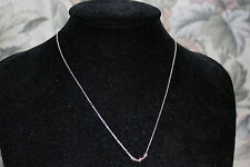 GENUINE LINKS OF LONDON STERLING SILVER SWEETIE MINI XS ROSE GOLD NECKLACE 50CM
