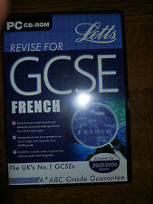 REVISE FOR GCSE FRENCH - LETTS - PC CD ROM