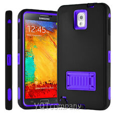 For Samsung Galaxy Note 3 N9000 Hybrid Rugged Shockproof Protective Case Cover