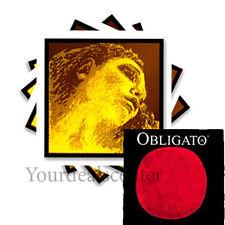 ^ Evah Pirazzi Gold Violin String Set 4/4 Gold G--- Obligato Gold E Ball