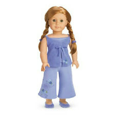 AMERICAN GIRL Mia's PAJAMAS + SLIPPERS pj set for Mia DOLL is NOT INCLUDED