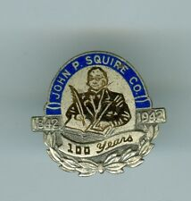 1842-1942 Enameled 100th Anniversary John P. Squire Company Pin