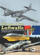 WINGS OF THE LUFTWAFFE - ERIC BROWN (HARDCOVER) NEW