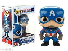 Captain America Civil War Captain America Pop! Funko Marvel Vinyl figure n° 125
