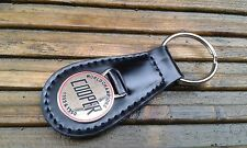 CLASSIC JOHN COOPER GARAGES LEATHER KEY FOB MPI SPORTSPACK NOS ROVER MINI S WORK