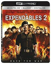 THE EXPENDABLES 2   (4K ULTRA HD) - Blu Ray -  Region free