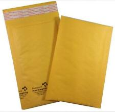 """Case of 500 #000 4""""x7"""" Self Seal Kraft Bubble Mailers Envelopes Padded Small"""