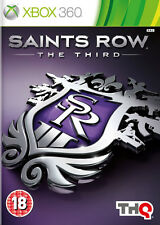 Saints Row La Third (3) ~ XBox 360 (en una condición de)