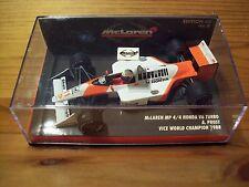 1/43 McLAREN MP4/4 HONDA V6 TURBO ALAIN PROST 1988 VICE WORLD CHAMPION