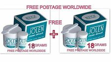 18 gm PACK Jolen Creme Bleach Lightens Dark Facial Hair Cream BUY 1 GET 1 FREE