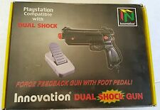NEW  Dual Shock W/ Foot Petal for Sega Saturn or Playstation 1 Light Gun Guncon