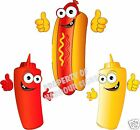 Hot Dog Decal 14