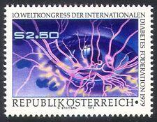 Autriche 1979 diabète/médecine/santé/yeux/vaisseaux sanguins/bien-être 1v (n23119)