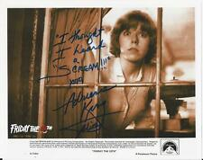 Adrienne King - Friday the 13th signed photo