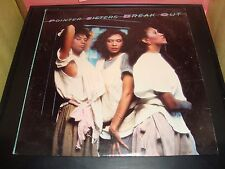 "Pointer Sisters Break Out 12"" Vinyl Record Album BXL1-4705A VG Condition 1984"