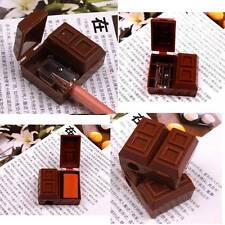 Taille-crayon Créative Mini Chocolate Motif Caoutchouc Mignon étudier Maquillage