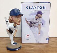 Clayton Kershaw 2016 Los Angeles Dodgers Bobblehead SGA with Mike Piazza card