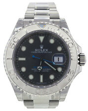 ROLEX Yacht-Master 40mm 116622 Dark Rhodium Blue Hand Steel & Platinum