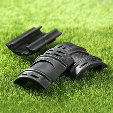 12Pcs Black Rifle Weaver Picatinny Handguard Rubber Rail Protector Cover Hunting