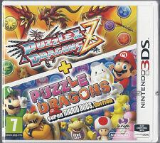 Nintendo 3DS Puzzle & Dragons Z + Puzzle & Dragons Super Mario Bros Edition NEW