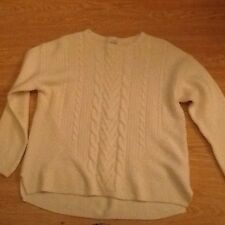 M&S Woman Chunky Cable Knit Jumper Size 18