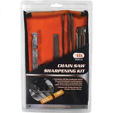 Chain Saw Sharpening Kit Chainsaw File Tool Set Guide Bar File With Instructions
