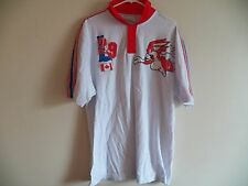 New Men's LOT 29 Looney Tunes' BUGS BUNNY Canadian Flag Polo Shirt Extra Large