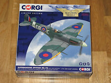 CORGI AVIATION SPITFIRE MKVB BRAM VAN DER STOCK  'GREAT ESCAPE' AA31934A MIB