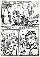FINALE DE COUPE FOOTBALL (ROBERT HUGUES) PLANCHE ORIGINALE PILAR SANTOS PAGE 42