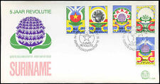 Suriname 1985, 5th Anniv Of Revolution FDC First Day Cover #C30272