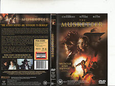 The Musketeer-2001-Justin Chambers-Movie-DVD