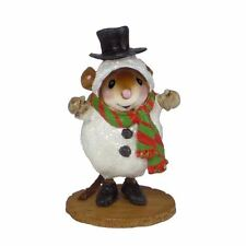 Wee Forest Folk M-543 Snowmouse ... Sandy - Mrs Frost's Classroom Xmas Play