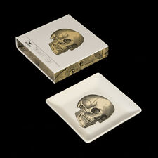CUBIC PRODUCTS ANATOMICAL SKULL TRINKET TRAY & GIFT BOX. HALLOWEEN. VINTAGE.