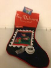 NEW ARTHUR CHRISTMAS HOLIDAY CHRISTMAS STOCKING MERRY CHRISTMAS TOY DELIVERY