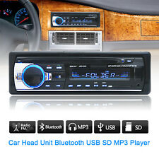 Car Bluetooth Stereo Audio In-Dash FM Aux Input Radio Receiver SD USB MP3 Player