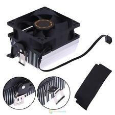 3Pin 80mm Silent CPU Cooling Fan Heatsink Radiator Cooler for AMD754 939 940 AMD