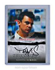 SUPERNATURAL JOIN THE HUNT SEASON 1-3 CRYPTOZOIC AUTO A13 TRAVIS WESTER