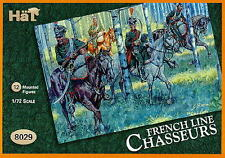 HaT Miniatures 1/72 FRENCH LINE CHASSEURS Figure Set