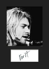 KURT COBAIN #1 Signed Photo Print A5 Mounted Photo Print - FREE DELIVERY