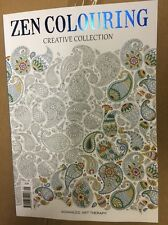 Advanced Art Therapy ZEN COLOURING CREATIVE COLLECTION ISSUE 9 Mag Stress Releas